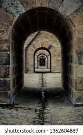Archway under Bridge