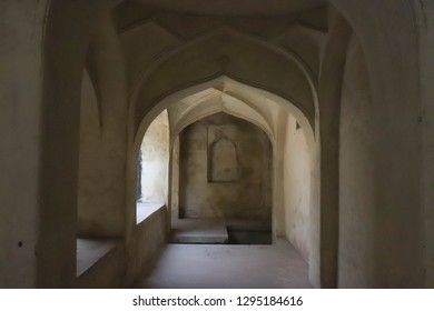 Archways in Golconda Fort