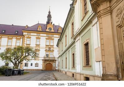 Arcibiskupsky palac (Archbishop's Palace) in Olomouc, Czech Republic