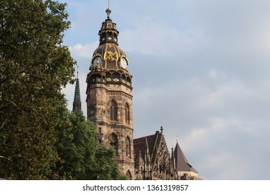 Arcitecture St. Elisabeth's Cathedral in Kosice
