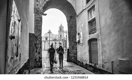 Arco de la Rosa Cadiz Spain