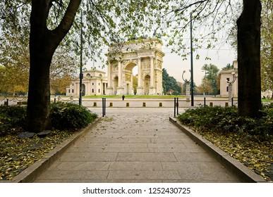 Arco della pace. Milan, Italy
