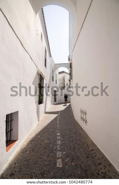 Arcos de la Frontera village white town in Cadiz province Andalusia Spain