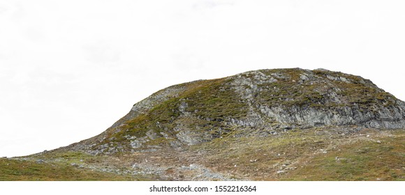 Arctic hill, fjeld in the north, Finnish Lapand, wilderness