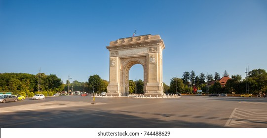 The Arcul de Triumf (Triumph Arch), Bucharest, Romania