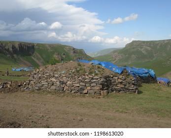 ardahan plateau in Turkey