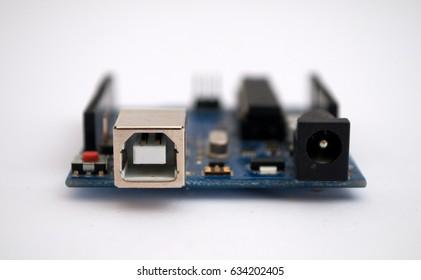 Arduino on a white background