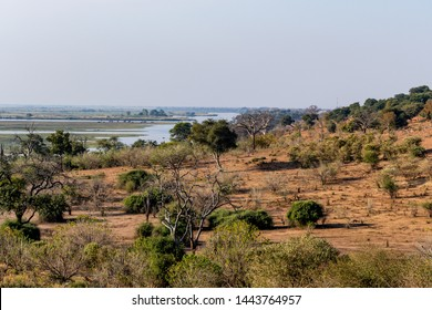 Area of the chobe national park at the chobe river in botswana, Africa