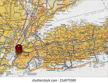 Area map of New York City