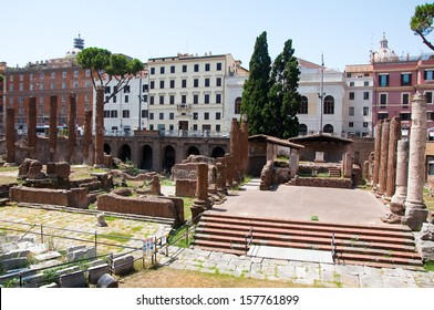 Area Sacra. Rome, Italy.