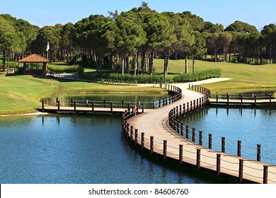 Area of Sueno Golf Club. Belek. Turkey.