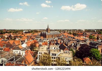 Areal view of Amersfoort