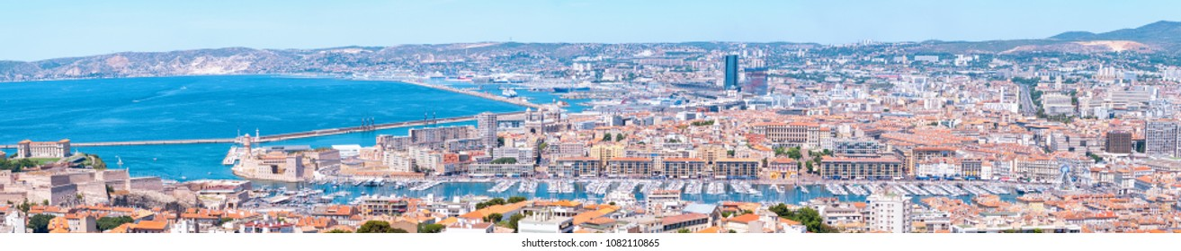 areal view Marseille