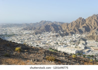 Areal view of Muscat City, Oman