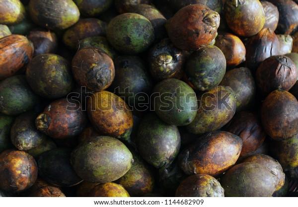 Areca Nut Aka Betel Nut Market Stock Photo (Edit Now) 1144682909