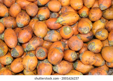 The areca nut is the seed of the areca palm. It is commonly referred to as betel nut. The areca nut is not a true nut, but rather the seed of a fruit categorized as a berry. It is commercially avail. - Shutterstock ID 2001626237