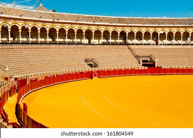 Arena of bullfighting in Seville