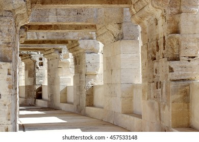 Arena and Roman Amphitheatre, Arles, Provence, France