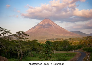 Arenal Volcano in Costa Rica, which last erupted in 2010