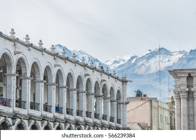 Arequipa Cathedral Basilica and its architecture plaza de armas