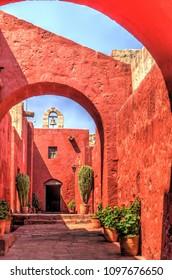 Arequipa cityscape, Peru