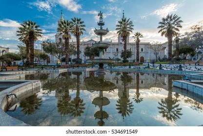 Arequipa Main Plaza Peru