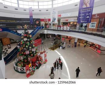 Arequipa / Peru - December 16 2018: Mall Real Plaza - Cayma