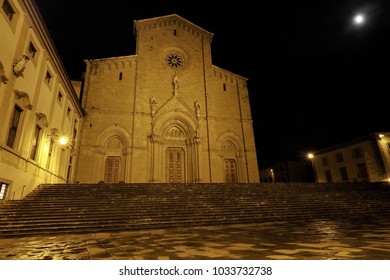 Arezzo Dome and square Tuscany, Italy