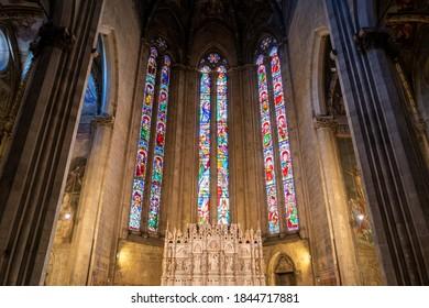 Arezzo, Italy - September 26, 2020: The church in Arezzo.
