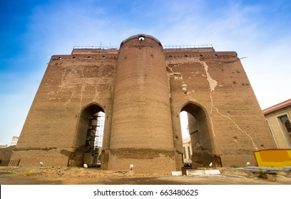 Arg of Tabriz ( also known as Arg Alishah, Arg Citadel, and Masjid Ali Shah), a big unfinished 14th-century mausoleum and a 19th-century military castle and barrack in city center of Tabriz, Iran.