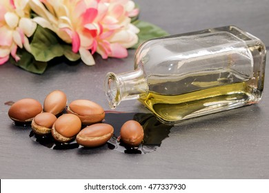 Argan oil , liquid gold of Morocco.