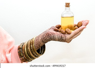 Argan seeds, gold of morocco