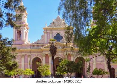 Argentina - 94-03-2017: Cathedral of Salta (Catedral de Salta)