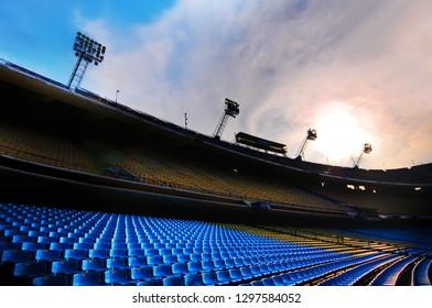 Argentina, Buenos Aires - October 8, 2013: Boca Juniors Stadium.