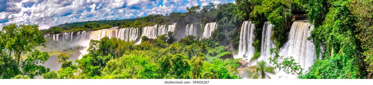 Argentina Falls Panoramic