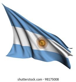 Argentina flag - collection no_4