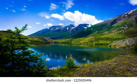 Argentina lake in the mountains