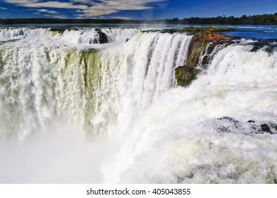 The Argentine side of Iguazu National Park