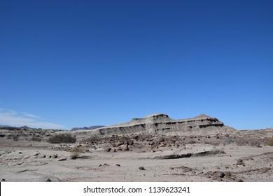 Argentinian desert landscape