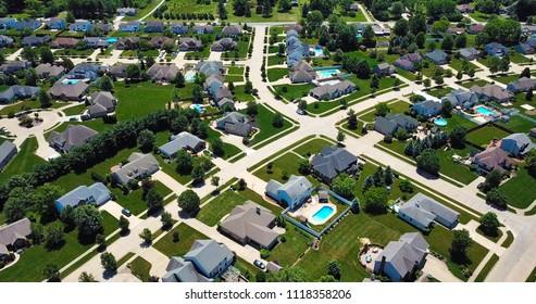 Arial of Neighborhood