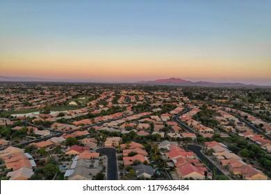 Arial photo of Chandler,AZ