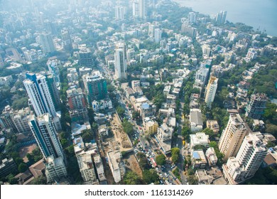 Arial view of Mumbai, Cityscape