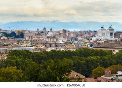 Gianicolo Roma Images Stock Photos Vectors Shutterstock