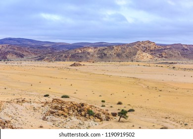 Arial view, Tinkas Plains, Namib-Naukluft-Nationalpark