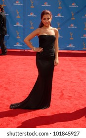 Ariana Grande at the 62nd Annual Primetime Emmy Awards, Nokia Theater, Los Angeles, CA. 08-29-10