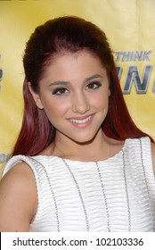 """Ariana Grande at the """"So You Think You Can Dance"""" Season 7 Premiere Party, The Trousdale Lounge, West Hollywood, CA. 05-27-10"""