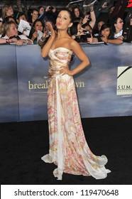 "Ariana Grande at the world premiere of ""The Twilight Saga: Breaking Dawn - Part 2"" at the Nokia Theatre LA Live. November 12, 2012  Los Angeles, CA Picture: Paul Smith"