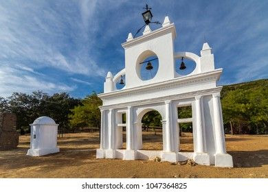 Arias Montano monument located in an area of great natural value, in the village of Alajar, Huelva, Spain
