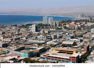 ARICA, CHILE - DECEMBER, 28: Arica is a commune and a port city in the Arica Province of northern Chile on December 28, 2012 in Arica, Chile.