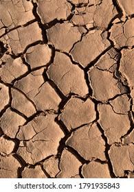 arid soil in spanish desert